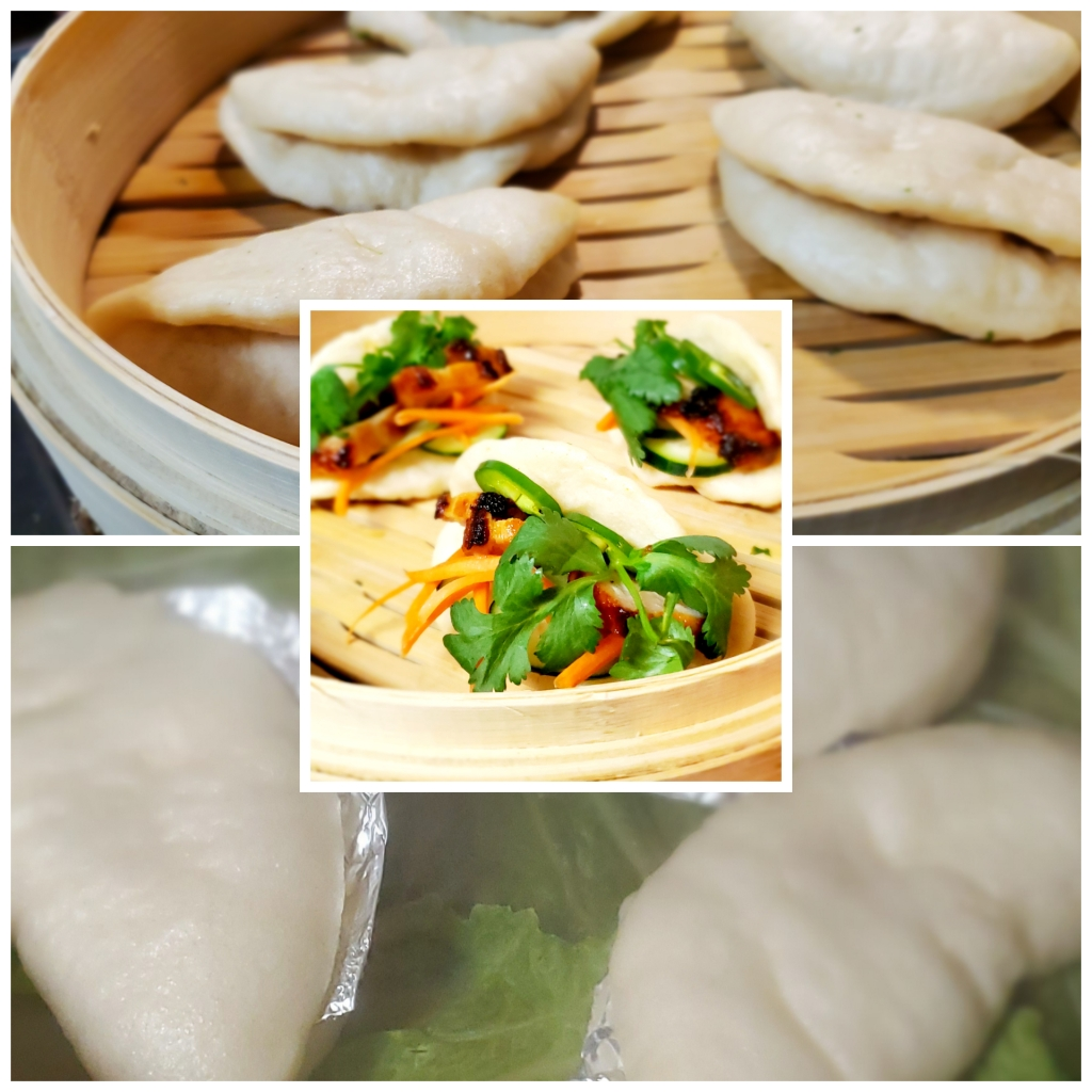 Easy Biscuit Bao made with refrigerator biscuits. Probably my best creation using refrigerator biscuits.