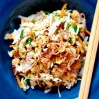 Vietnamese Chicken Cabbage Salad W/ Crispy Shallot