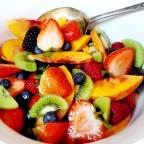 Super Easy Summertime Fruit Salad W/ Local Honey
